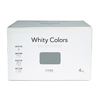 【Web限定】CAINZ 室内用塗料 ホワイティカラーズ 4kg 柳灰【別送品】