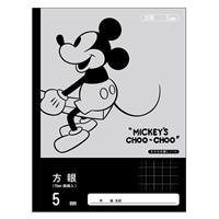 ディズニー 学習帳 5mm 方眼ノートNCD-5MM
