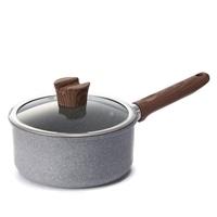 ストーンマーブル超軽量片手鍋 IH対応 18cm