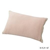 のびのびタオル枕カバー ピンク 35×55(筒型)