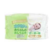 水分たっぷり 水99.9% 赤ちゃんおしりふき 大判・厚手 180枚(60枚×3個)