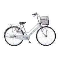 【自転車】【全国配送】KiLaCle パンクしにくい軽快車 内装3段 27インチ シルバー【別送品】