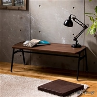 SI5 テーブル モデルノ MDN−1040T ブラウン【別送品】