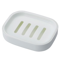 石鹸皿 ホワイト