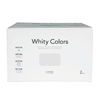 【Web限定】CAINZ 室内用塗料 ホワイティカラーズ 2kg スチール【別送品】