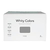【Web限定】CAINZ 室内用塗料 ホワイティカラーズ 2kg はいいろ【別送品】