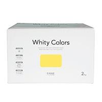 【Web限定】CAINZ 室内用塗料 ホワイティカラーズ 2kg ハニー【別送品】