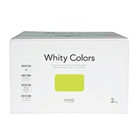 【Web限定】CAINZ 室内用塗料 ホワイティカラーズ 2kg ライム【別送品】
