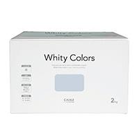 【Web限定】CAINZ 室内用塗料 ホワイティカラーズ 2kg アイスグレー【別送品】