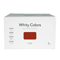【Web限定】CAINZ 室内用塗料 ホワイティカラーズ 2kg ガーネット【別送品】