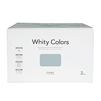 【Web限定】CAINZ 室内用塗料 ホワイティカラーズ 2kg ベビーブルー【別送品】