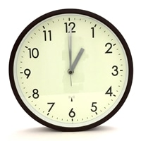 【数量限定】電波掛け時計(BR)C-6