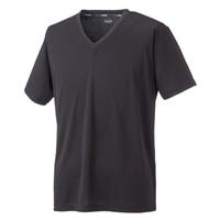 【数量限定】スピードドライ Tシャツ V首 BK M