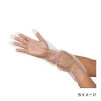 伸びるポリエチレン手袋 100枚 フリーサイズ