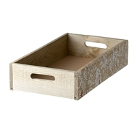 【trv】WOOD BOX L 40X24X9cm