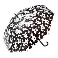 【数量限定】デザインジャンプ傘 ミッキーマウスBK
