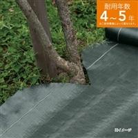 高密度防草シート 1×10m ダークグリーン
