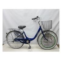【自転車】【全国配送】軽く乗れる軽快車 sorbet(ソルベ) 24インチ 藍【別送品】