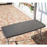 【SU】ラタン調テーブル