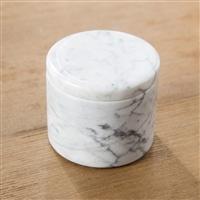 【trv】Marble マーブルフタ付き調味料入れ Φ7cm