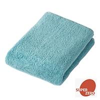 【数量限定】ふんわり長持ち バスタオル ブルー