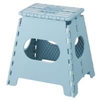 折りたためる踏み台(ハイタイプ) ブルー