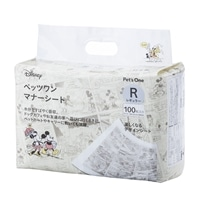 【数量限定】Pet'sOne マナーシート ディズニー デザイン レギュラー 100枚入り(1枚あたり 約10.0円)