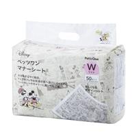 【数量限定】Pet'sOne マナーシート ディズニー デザイン ワイド 50枚入り(1枚あたり 約20.0円)