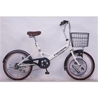 【自転車】【全国配送】小径車 KARTOFFELSALAT(カートフェルサラート) 外装6段 20インチ ホワイト【別送品】