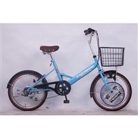 【自転車】【全国配送】小径車 KARTOFFELSALAT(カートフェルサラート) 外装6段 20インチ ブルー【別送品】
