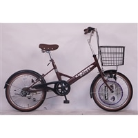 【自転車】【全国配送】小径車 KARTOFFELSALAT(カートフェルサラート) 外装6段 20インチ ブラウン【別送品】