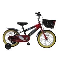 【自転車】【全国配送】補助付き子供用自転車サンダーフォースキッズ16インチレッド/ブラック【別送品】