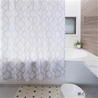 シャワーカーテン 130×150cm アーガイル