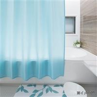 シャワーカーテン 1315 無地ブルー