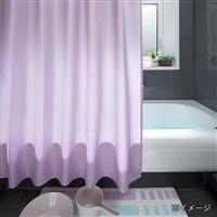 シャワーカーテン 130×150cm 無地 ピンク