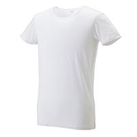 【数量限定・2017秋冬】VL 吸湿発熱インナーシャツ丸首 半袖 ナチュラルホワイト M