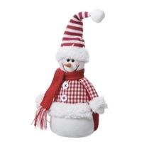 スノーマン人形(レッド)