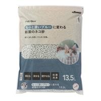 猫砂 Pet'sOne もっと濃いブルーに変わる紙製のネコ砂 13.5L