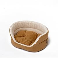 丸型ベッド ベージュ S