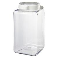 ワンプッシュで開閉できる保存容器2.8L