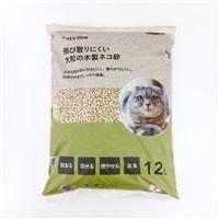 猫砂 Pet'sOne 飛び散りにくい大粒の木製ネコ砂 12L(1Lあたり 約81.7円)