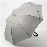 【数量限定】折れにくいジャンプ傘 65cm グレー