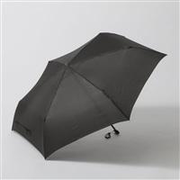 【数量限定】折りたたみ傘 フラット 55cm ブラック