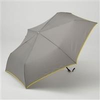 【数量限定】折りたたみ傘 フラット 55cm グレー