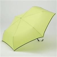 折りたたみ傘 フラット 55cm グリーン