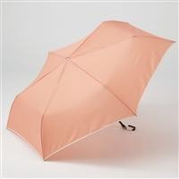 折りたたみ傘 フラット 55cm ピンク