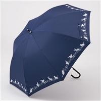 晴雨兼用傘 55cm キャット ネイビー