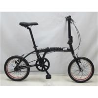 【自転車】【全国配送】折り畳み自転車 COEUR ダース・ベイダー 16インチ【別送品】