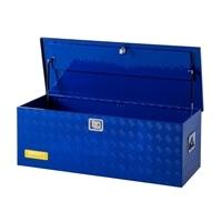 【SU】アルミBOX ブルー 135×52.7×47cm