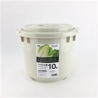 漬物樽10型 グレー